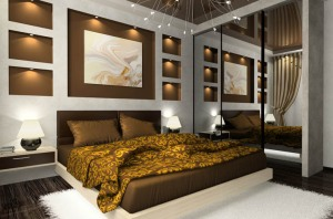 interior_bedroom-gold-brown-and-mirrior
