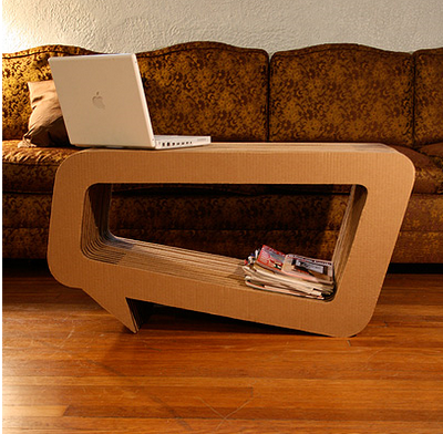 leo kempf cardboard furniture